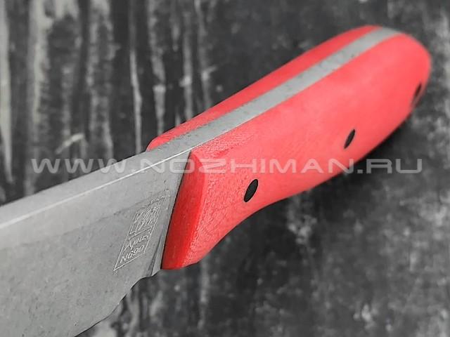 Zh Knives нож True сталь N690, рукоять G10 red