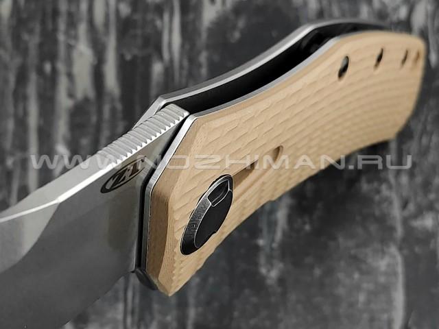 Zero Tolerance нож 0308 сталь CPM 20CV, рукоять G10/титан