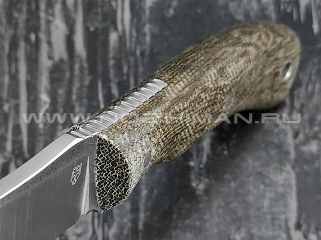 """РВС нож """"Вереск"""" сталь N690, рукоять микарта"""