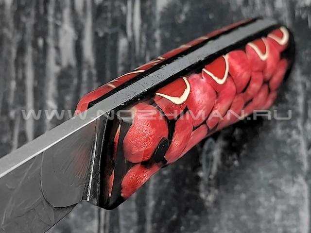 """Волчий Век нож """"Вожак"""" сталь Niolox WA, рукоять трехмерный композит"""