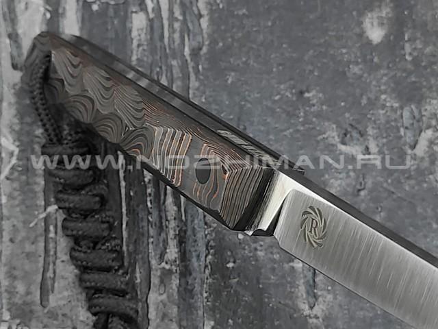 "Neyris Knives нож Acus сталь CPM S125V, рукоять Carbon fiber ""unicopper"""