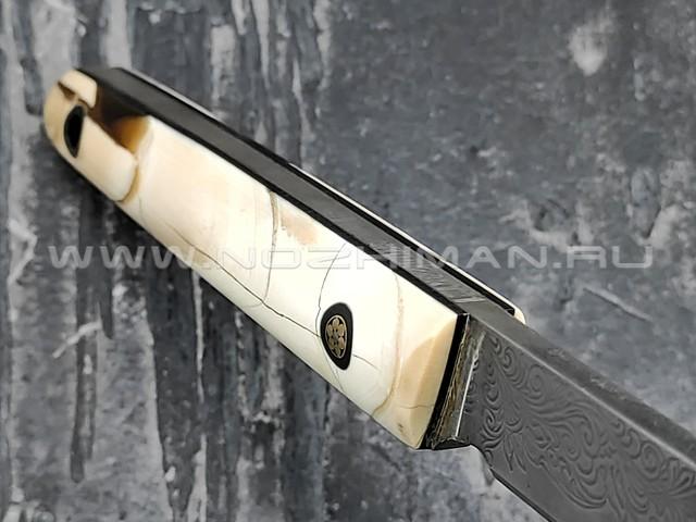 Neyris Knives нож Saba сталь CPM Rex 121, рукоять стаб. бивень мамонта