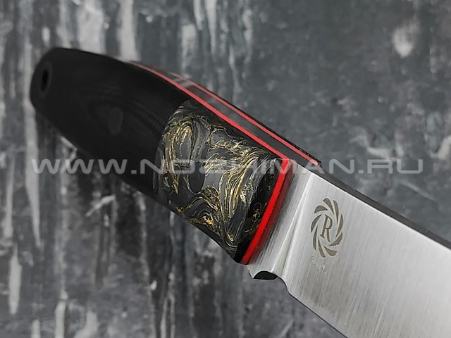 Neyris Knives нож Turk 2 сталь Elmax, рукоять хаотичный карбон, G10 black