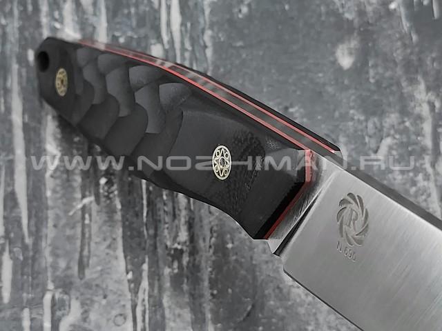 Neyris Knives нож Tezis сталь N690, рукоять G10 black, мозаичные пины