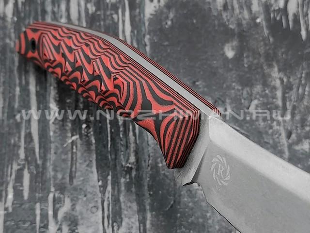 Neyris Knives нож Shan сталь D2, рукоять G10 red & black