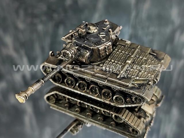 Танк Patton M46, латунь, 50 мм