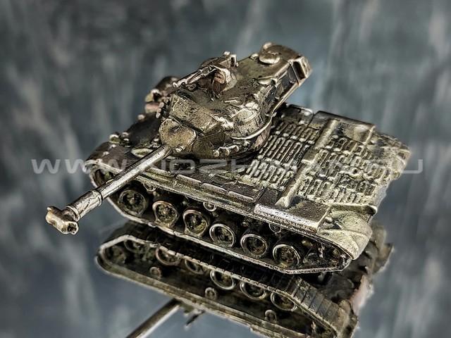 Танк M47 Patton II, латунь, 50 мм