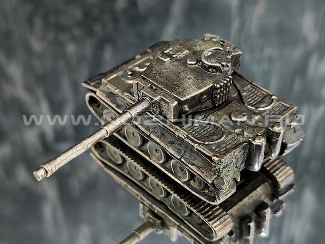 Танк Pz.Kpfw.VI Tiger, латунь, 50 мм