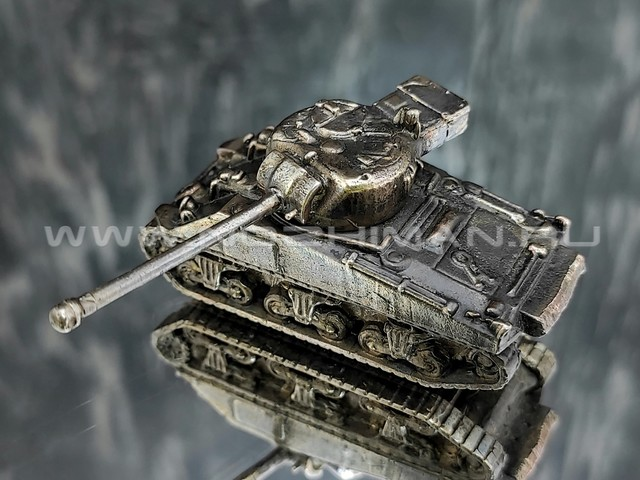Танк Sherman Firefly, латунь, 50 мм