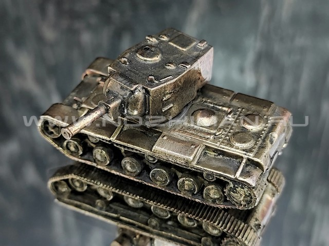 Танк КВ-2, латунь, 50 мм
