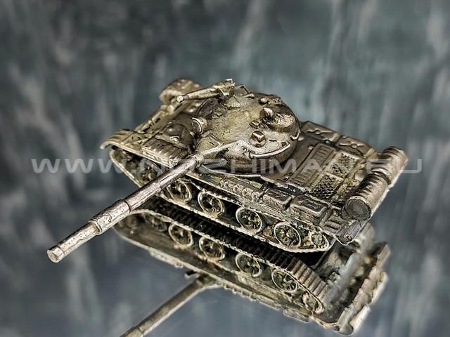Танк Т-62, латунь, 50 мм