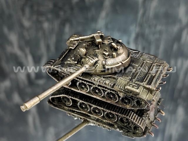 Танк Т-54, латунь, 50 мм
