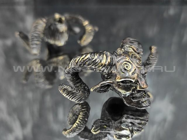 "Бусина ""Фавн"" латунь (By Mordor)"