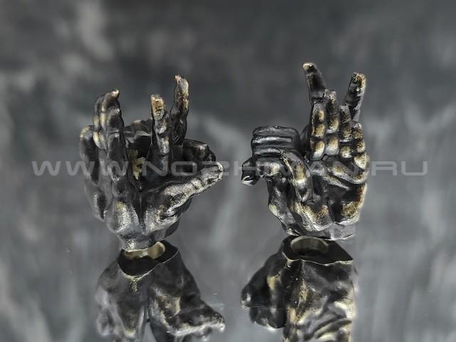 "Бусина ""Канобу"" латунь (By Mordor)"