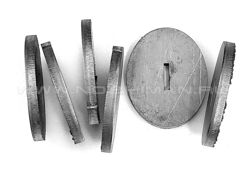 Больстер титан ОТ4, 38х30х3.5 мм