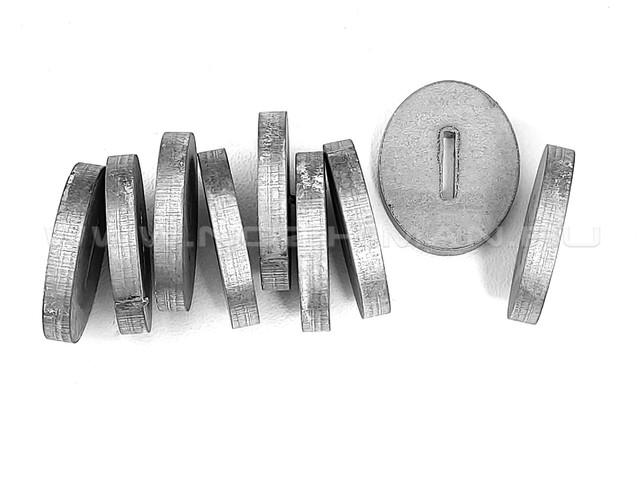 Больстер нержавеющая сталь, 25х20х3.9 мм