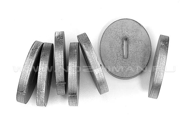 Больстер нержавеющая сталь, 30х25х3.9 мм
