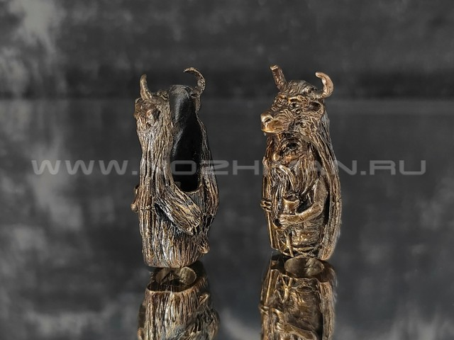 "Бусина ""Велес"" латунь (By Mordor)"