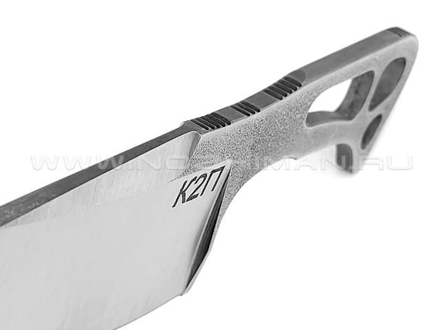 """1-й Цех нож """"К2П"""" сталь N690, рукоять сталь"""