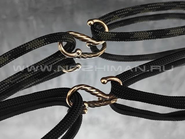 Соединитель для браслетов S1, бронза (РЛМ)