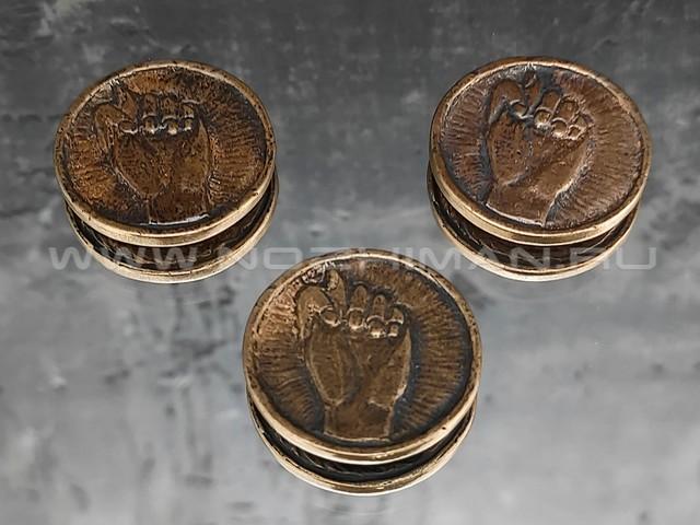 """Монета """"1 фиг"""" бронза (РЛМ)"""