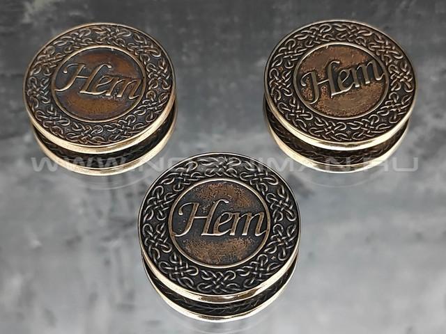 """Монета """"Да-Нет"""" бронза (РЛМ)"""