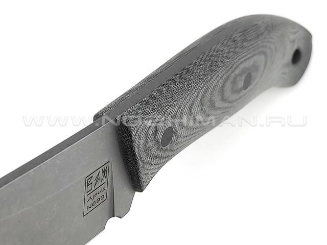 ZH Knives нож Ctrl+Z сталь N690, рукоять Micarta