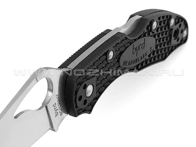 Byrd нож Meadowlark 2 BY04PBK2 сталь 8Cr13MoV, рукоять FRN black