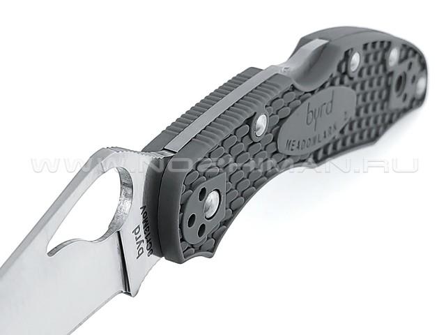 Byrd нож Meadowlark 2 BY04PGY2 сталь 8Cr13MoV, рукоять FRN grey