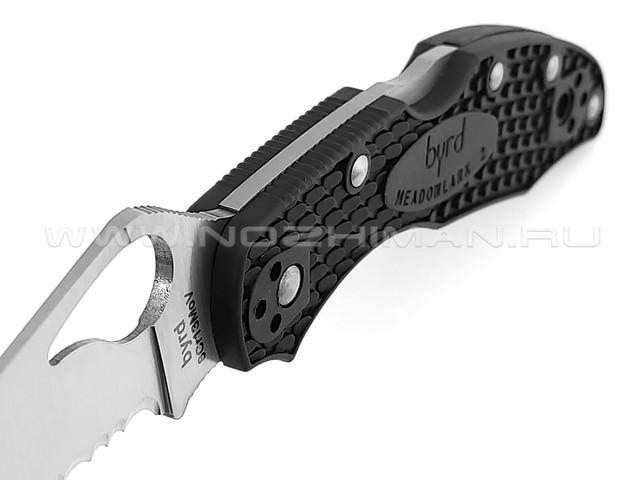 Byrd нож Meadowlark 2 BY04PSBK2 сталь 8Cr13MoV, рукоять FRN black