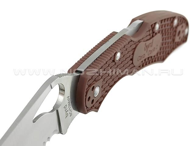 Byrd нож Cara Cara 2 BY03PSBN2 сталь 8Cr13MoV, рукоять FRN brown