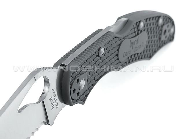 Byrd нож Cara Cara 2 BY03PSGY2 сталь 8Cr13MoV, рукоять FRN grey