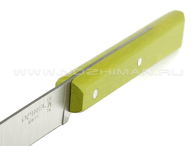 Кухонный нож Opinel №125 Green Apple 001591 сталь 12C27, рукоять бук