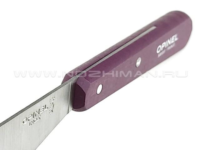 Нож для намазывания Opinel №117 Plum 001934 сталь X50CrMoV15, рукоять бук