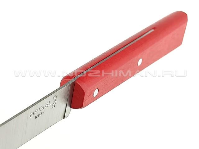 Кухонный нож Opinel №125 Red 001595 сталь 12C27, рукоять бук