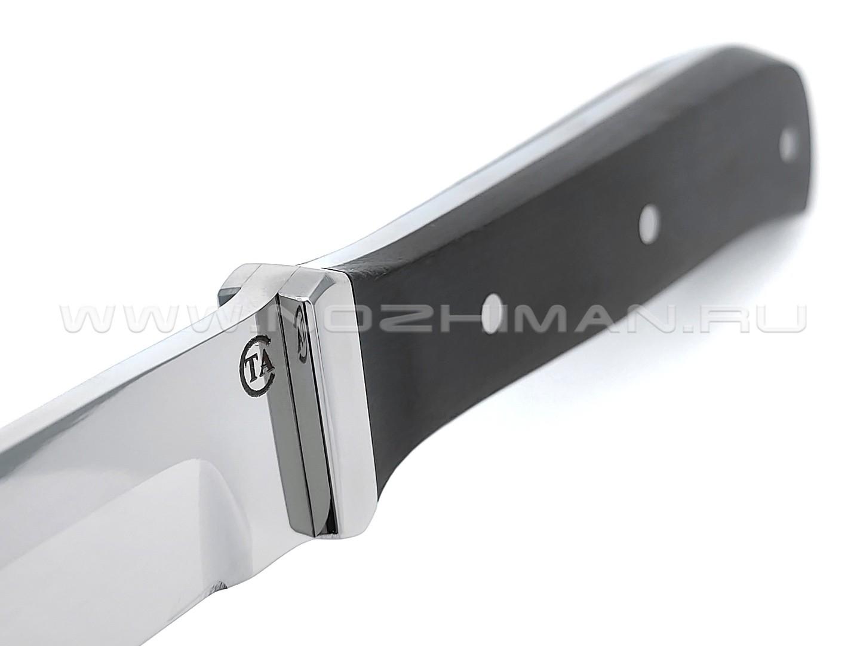 """Нож """"НП-42"""" сталь 95Х18, рукоять граб (Титов & Солдатова)"""