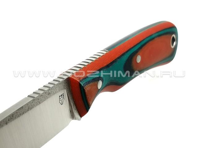 "РВС нож ""Гонец"" сталь N690, рукоять микарта"