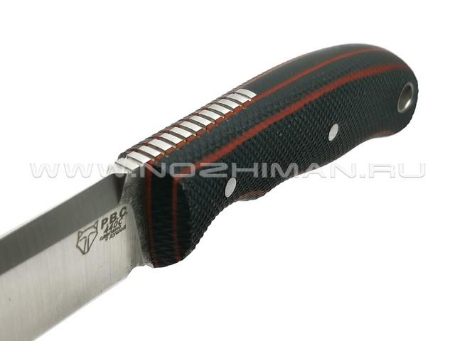 """РВС нож """"Ронин"""" сталь 440C, рукоять микарта"""
