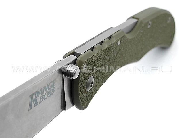Cold Steel нож Range Boss 20KR7 OD Green сталь 4034SS, рукоять Zy-Ex