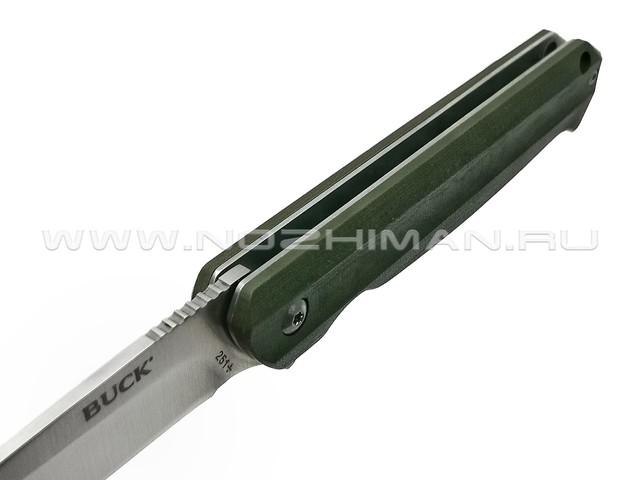 Buck нож Langford 0251GRS сталь 7Cr17MoV, рукоять G10 green