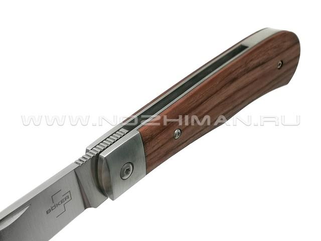 Boker Plus нож 01BO181 Bonfire Bubinga сталь D2, рукоять дерево Бубинга