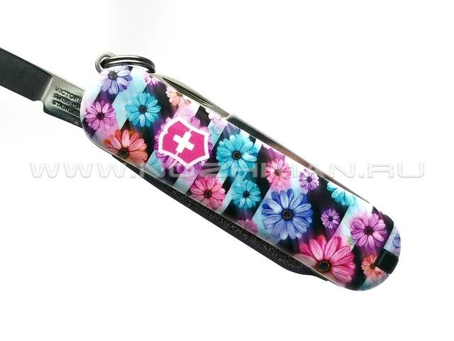 Швейцарский нож Victorinox 0.6223.L2107 Dynamic Floral (7 функций)