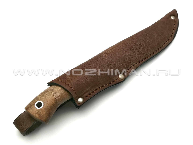 Нож Тигр-М сталь ELMAX, рукоять дерево орех (Фурсач А. А.)