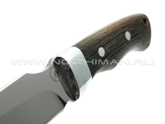Нож Рысь-ЦМ сталь 95Х18, рукоять венге (Фурсач А. А.)