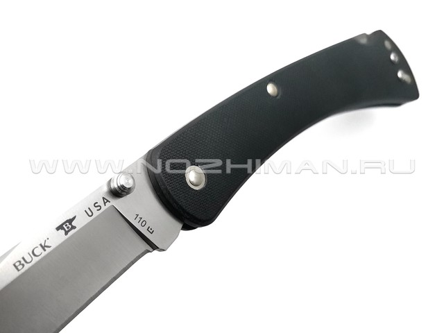 Нож Buck 110 Slim Knife Pro 0110BKS4 сталь S30V, рукоять G10 black
