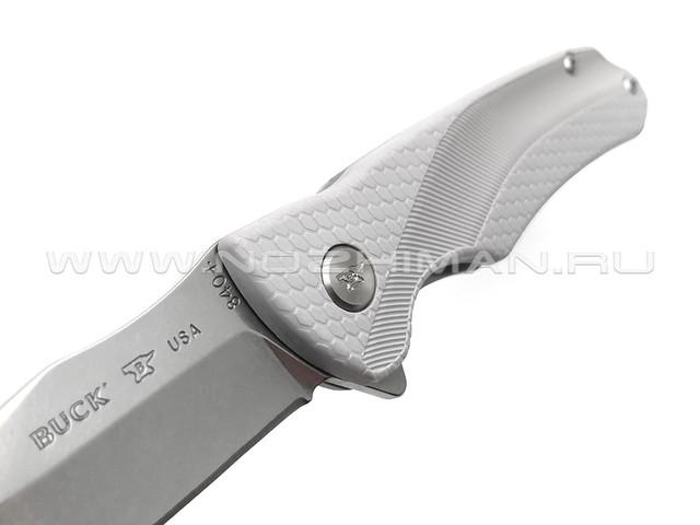 Нож Buck 840 Spring Select 0840GYS сталь 420HC, рукоять GFN grey
