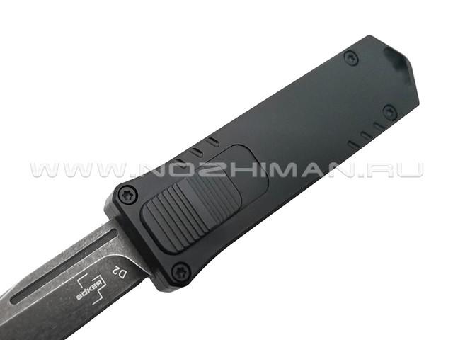 Нож Boker Plus USB OTF 06EX270 сталь D2 blackwash, рукоять Aluminum 6061-T6