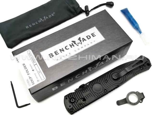 Нож Benchmade 391BK SOCP Folder сталь D2, рукоять CF-Elite