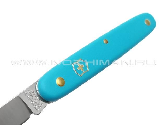 Нож Victorinox 3.9050.25B1 Floral Light Blue сталь X55CrMo14, рукоять Nylon