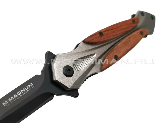 Нож Magnum Starfighter XL 06RY069 сталь 440A, рукоять Aluminum, Cocobolo